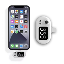 LED Portable Mini Intelligent Cell Phone Thermometers Mobile Thermometer