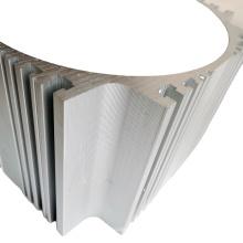Pièces métalliques de service d'usinage de profilés en aluminium personnalisés cnc