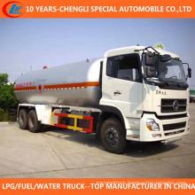 6X4 LPG Tanker 25cbm LPG Storage Tank Truck for Sale