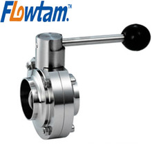 manual stainless steel sanitary valve