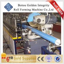 Square Downspout Rollformmaschine / Kaltwalzwerk Maschine