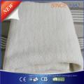 Qindao Ce / CB / GS / BSCI Zulassung Synthetisches Wollvlies Zehn Hitzeeinstellung Elektrische Decke