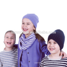 Wholesale 100% Cashmere kids Beanie Hat