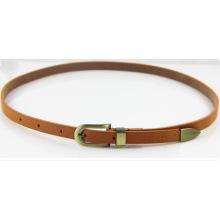 Fashion colorful PU belt for woman dress