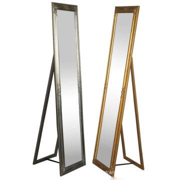 Framed Mirrors full length folding antique floor standing mirror