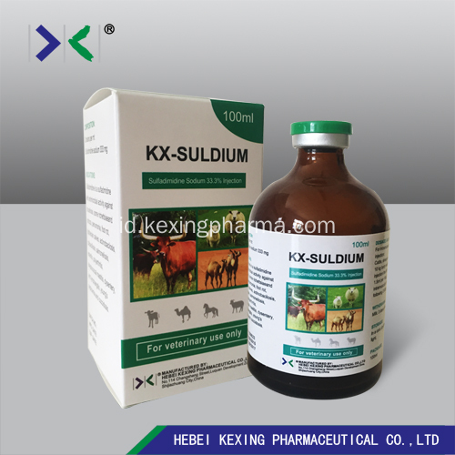 Sulphadimidine Sodium Injection Hewan 33,3%