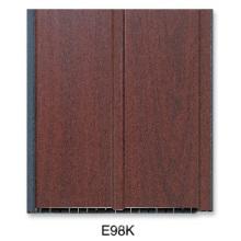 Gerillte Laminierte PVC-Platte (E98K)