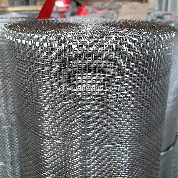 Crimped Wire Mesh For Stone Quarry