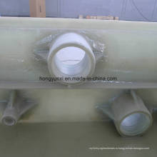 Стеклопластиковые прямоугольные Опреснительный бак Прокатан рукой вверх