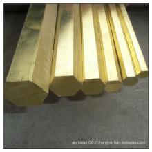 Barre en cuivre pleine dure C1221 de vente chaude