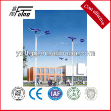 solar powered outdoor light pole