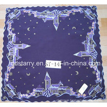 Christmas Table Cloth Purpule Color St47