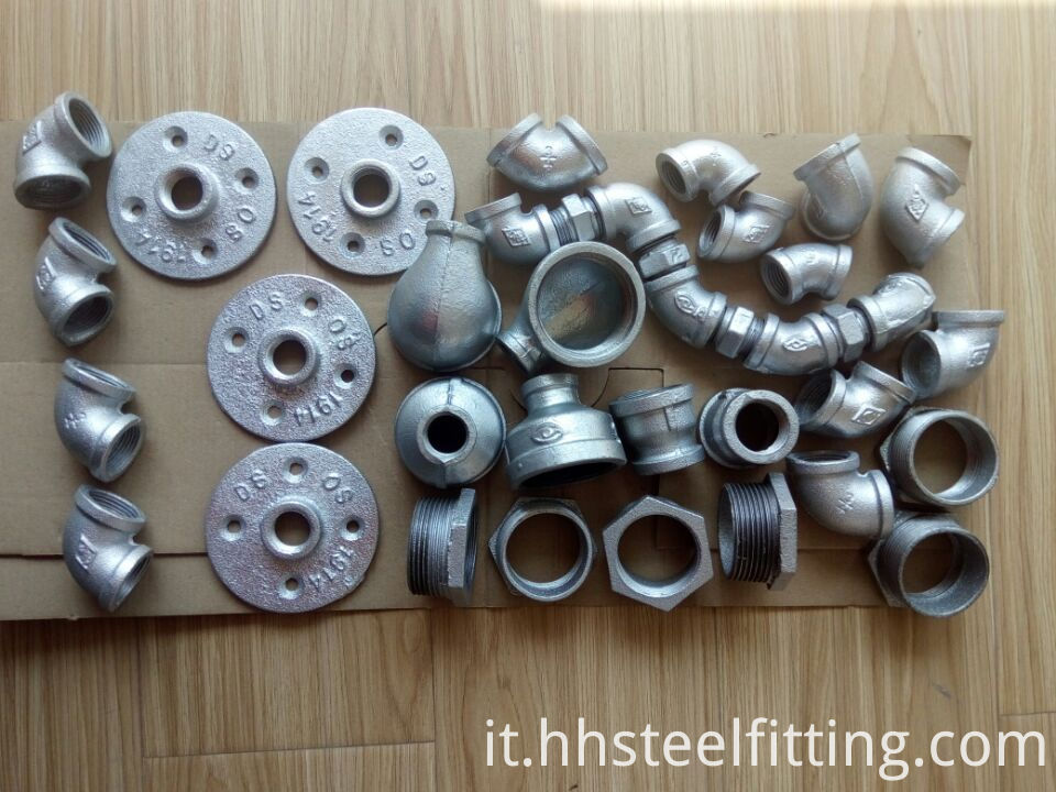 galvanized pipe fitting