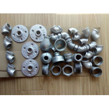 galvanized industrial pipe fitting floor flange coupling
