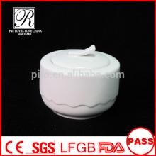P&T porcelain factory sugar jug, follwer shape sugar bowls