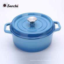Gusseisen Holländer Ofen Mit 360 Grad Wasser-Radfahren System, Dual Griffe