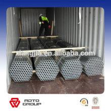 Largest exporter of Q235/Q345 galvanized pipes
