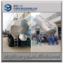45 M3 Food Grade Flour Tanker Tipping Dry Bulk Tank Trailer
