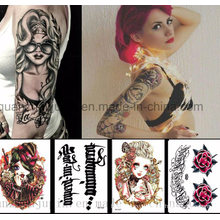 Custom Various Water Proof Arm Whole Temporary Tattoo Sticker