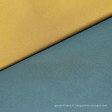 Fil-a-Fil Semi mémoire tissu Polyester pour manteau prénatale
