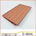 Painel de parede de plástico composto de madeira wpc cladding / wood plastic cladding