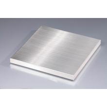 Paneles de panal de acero inoxidable cepillado de 25 mm