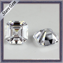 Wholesale Asscher Cut Synthetic Gemstone Cubic Zirconia