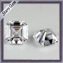 Оптовая Asscher Cut Синтетические Gemstone кубического циркония