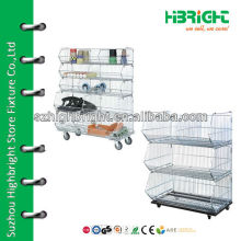 Stackable wire cage for promotion