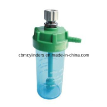 Medical Oxygen Humidifier Bottles (Connection With Metal Nut)