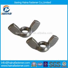 Acier inoxydable A2-70 Wing Nuts DIN314 fabriqué en Chine
