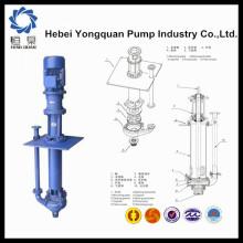 YQ Минеральные пески дешевое Производство центробежных погружных шламовых насосов