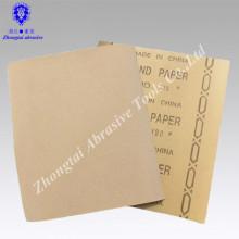 Umweltfreundliches Granatschleifpapier Sandpapier für Holz