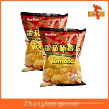 China fornecedor de prova de umidade por atacado personalizado impresso calor selado sacos de folha de microplaqueta de batata