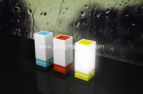 Promotional Logo Desk Touch Lamp Powerbank
