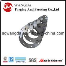 ANSI DIN carbono aço forjado slip-on flange da tubulação