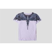 Impression des ailes T-shirt et dessus T-shirt manches courtes