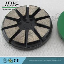 Disque de broyage à 10 segments avec verrouillage à simple broche