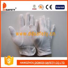 Guantes Ddsafety de algodón blanco / Guantes de seguridad Dch115