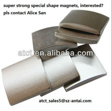 Arc magnets for motorcycles