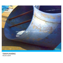 Codo grande de la pipa de acero de carbón de la soldadura de A516 Gr70 del tamaño grande