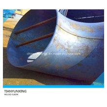 Большой размер A516 Gr70 Сварное углеродистое стальное трубное колено