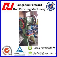 Machine de poinçonnage de trou de feuille d'acier de QJ / poinçonneuse de trou de feuille en métal