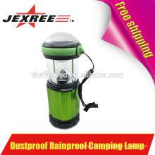 Alto Brilho 500 Lumen alumínio LED 4X 1.5V AA LED Camping Light