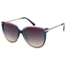 Nuevas gafas de sol de metal para mujer de diseñador de moda con UV400