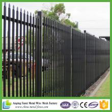 Portail chinois de clôture d'acier galvanisé robuste de clôture 5FT X 8FT