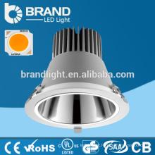 VENDA QUENTE !! AC85-265V 6000lm 50W COB para baixo luz, COB Downlight 50W, CE RoHS