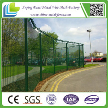 China Supplier Powder Cotaed High Security 358 Clearvu Security Fence with Spikes