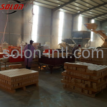 Best price wood shavings pallet block pressing line