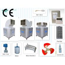Resfriamento de ar ambiente industrial